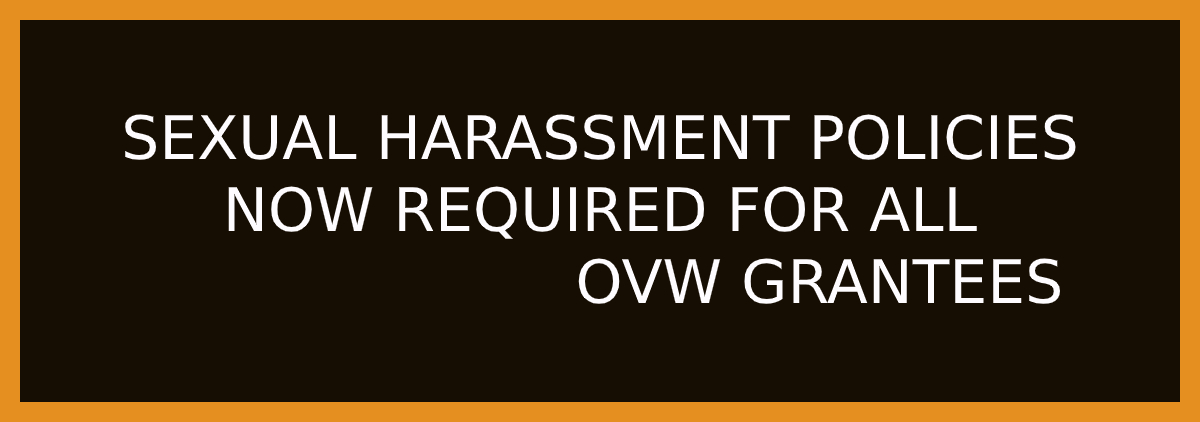 OVW Sexual Harassment Policies