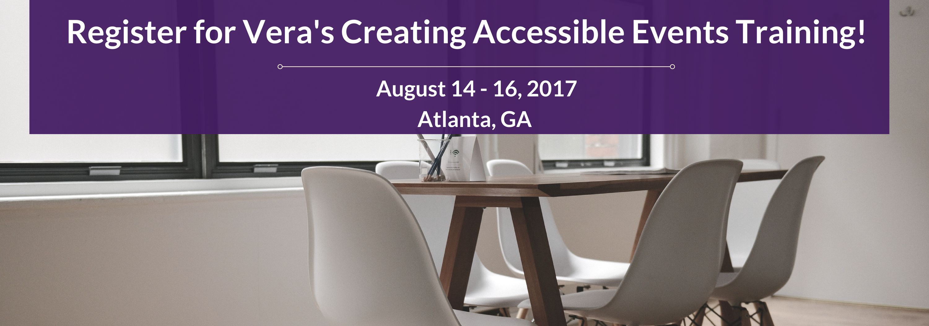 Creating Accessible Training and Technical Assistance